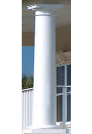 Column repaired by Southern Steeplejacks in Florida.
