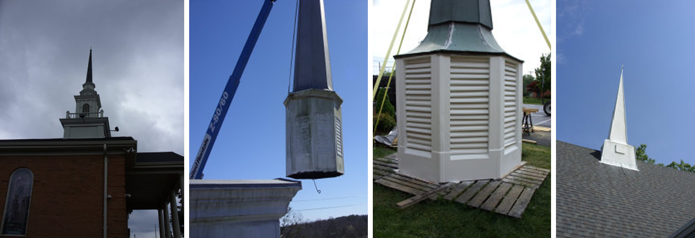 Southern Steeple Jacks: Repair, Restore and Replace Church Steeples, Spires, Cupolas, Bell Towers and Columns
