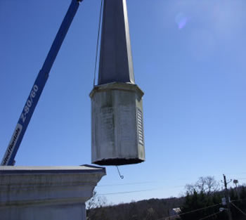 Need a steeple or church spire removed? Call Southern Steeplejacks!