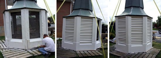 Southern Steeplejacks repairs bell towers. - Southern Steeplejacks - 828-685-0940