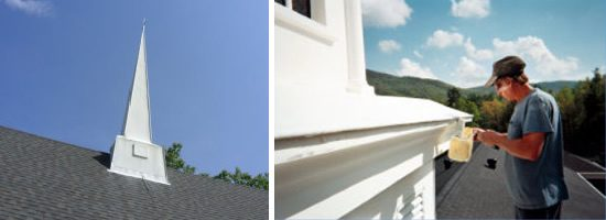 Southern Steeplejacks provides church steeple and church spire cleaning and repair. - Southern Steeplejacks - 828-685-0940