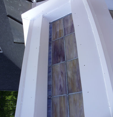 Southern Steeplejacks can repair stained glass windows like this one in Kentucky.